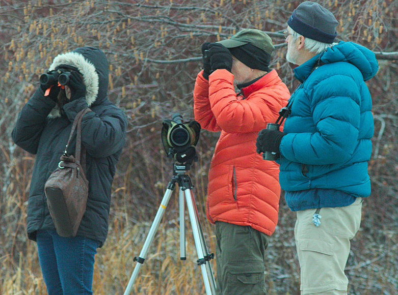 Participants in the 2014 Merritt Christmas Bird Count. Photo: Corey Burger